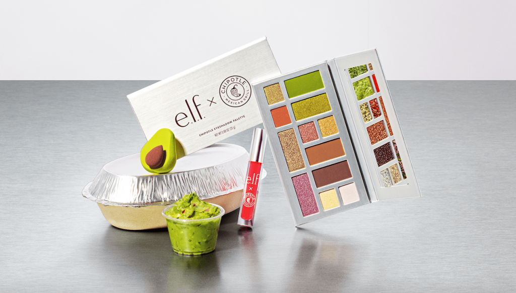 e.l.f. Cosmetics x Chipotle launch a limited edition makeup collection